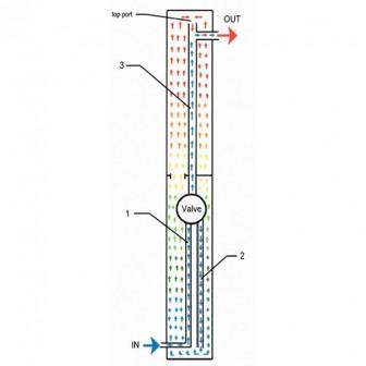 Душ солярный уличный, 18 л, 214 см, ПВХ